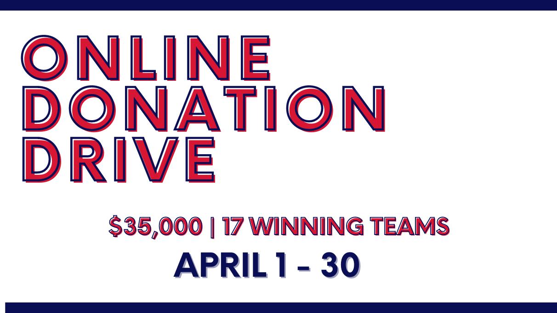 Online Donation Drive April 2021